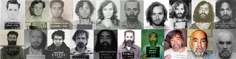collage foto segnaletiche manson